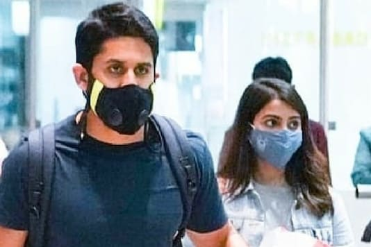 Samantha Akkineni, Naga Chaitanya Spotted at Hyderabad Airport After Flying From Maldives