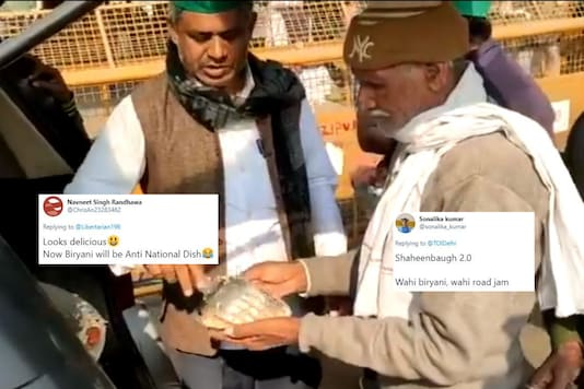 'Shaheen Bagh 2.0': Biryani is 'Anti-national' Again after Visuals of Protesting Farmers Eating Go Viral