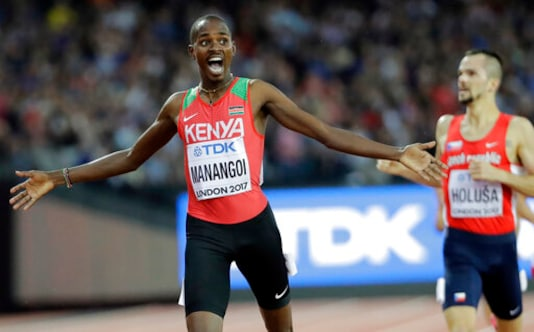 Former 1,500m World Champ Manangoi Banned For 2 Years