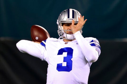 Cowboys Will Have 4th Starting QB Of Season Against Steelers