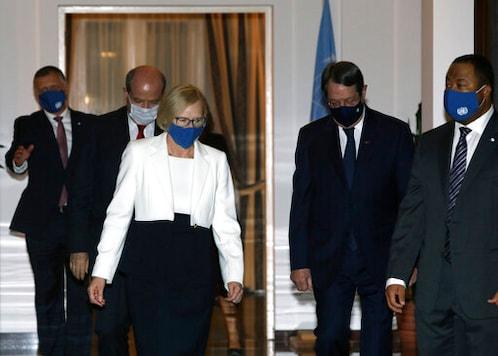 Rival Leaders Back UN Bid To Relaunch Cyprus Peace Talks
