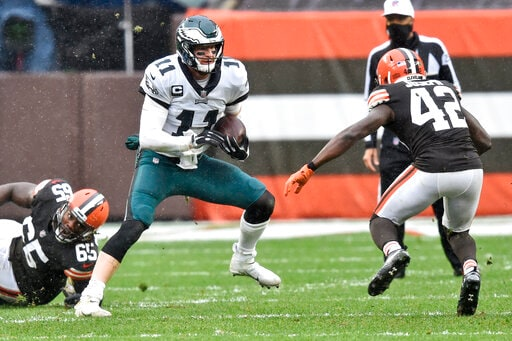 Eagles' Troubles Can't Be Pinned On Just The Coach Or QB