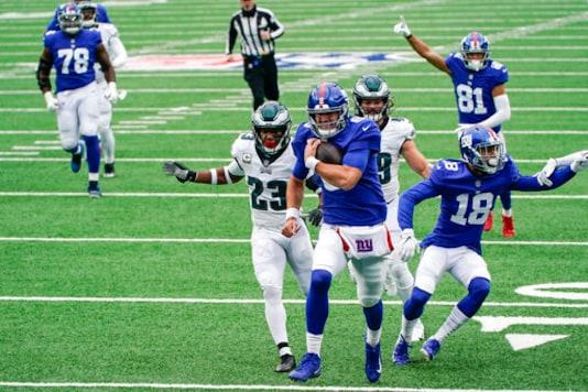 Heading Into Bye, Giants Back In Contention In Weak NFC East