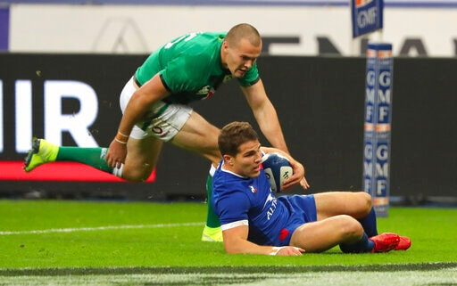 France Dazzles Against Ireland But England Wins 6 Nations