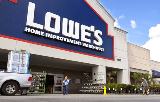 Sales Surge At Lowe's As The Homebound Take On More Projects