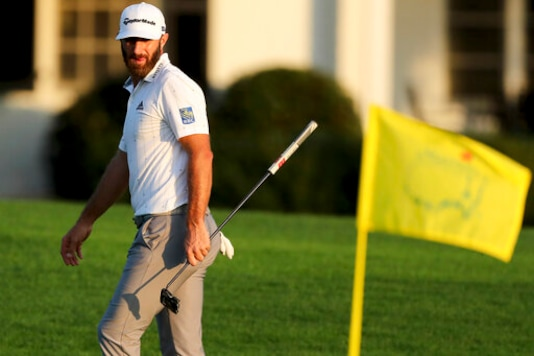 The Latest: Johnson Starts Out With A 4-shot Lead At Masters