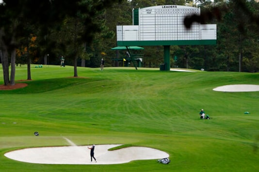 A Quiet Start To Empty Week At Augusta National For Masters