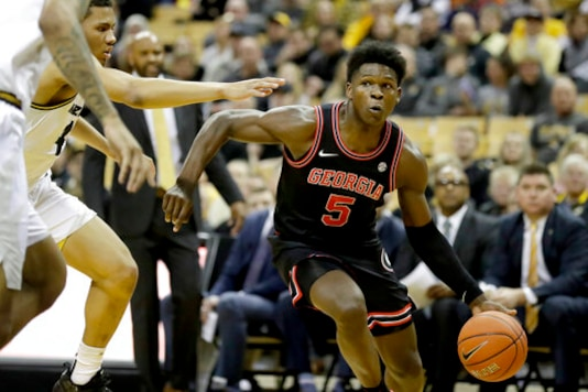 T-wolves Take Guard Anthony Edwards With Top Pick In Draft