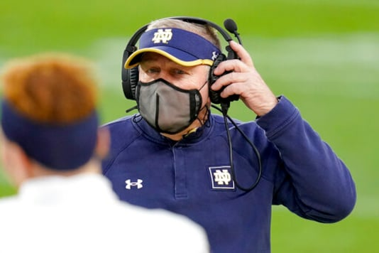 Big Chance Arrives For No. 4 Notre Dame With Clemson In Town