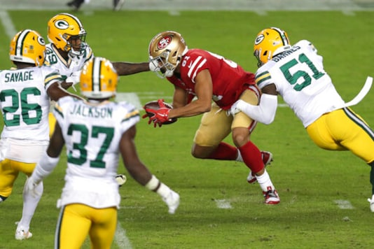 Undermanned 49ers Overwhelmed By Packers In 34-17 Loss