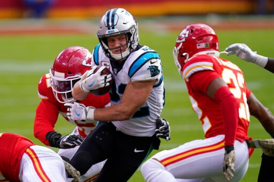 Panthers Lean Heavily On McCaffrey In Upset Bid Of Chiefs