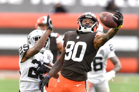 Browns' Landry Playing Rest Of Season For Injured Friend OBJ