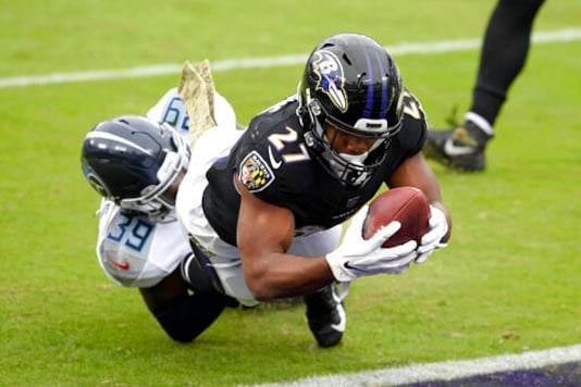 Ravens Dip Into 3rd Place After Fading In OT Loss To Titans