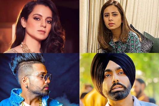 Punjabi stars including Sargun Mehta, Himanshi Khurana, Ammy Virk, and Sukhe have lashed out at Kangana Ranaut over her recent comments on farmers' protest.