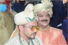 In Pics: Aditya Narayan Makes for a Dashing Groom, Udit Narayan Dances at Son's Baraat