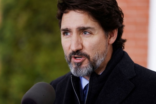File photo: Canada's Prime Minister Justin Trudeau attends a news conference at Rideau Cottage, as efforts continue to help slow the spread of the coronavirus disease (COVID-19), in Ottawa, Ontario, Canada November 20, 2020. REUTERS/Blair Gable