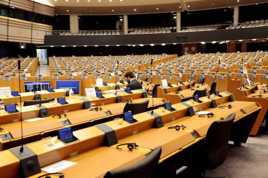 File photo of the European Parliament. (Reuters)