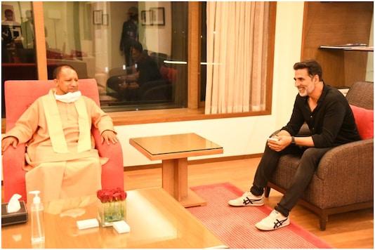 Akshay Kumar Discusses Shooting New Film Ram Setu in Ayodhya with UP CM Yogi Adityanath