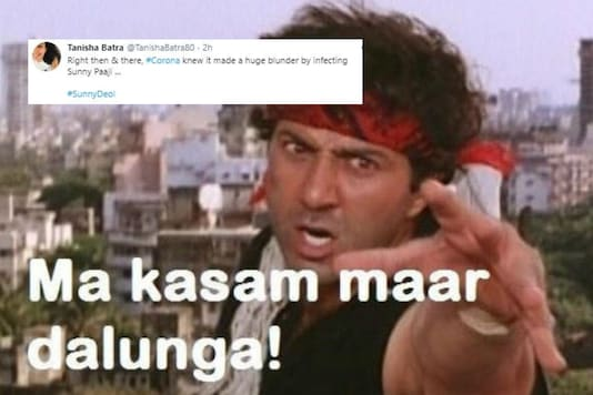 Sunny Deol Tests Positive for Coronavirus and His Fans are Wishing Him Speedy Recovery in 'Gadar' Way