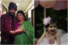 'Don't Grow Up so Soon': Yash's Wife Radhika Pandit's Wish on Their Daughter's Birthday