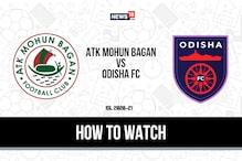 ISL 2020-21: How to Watch ATK Mohun Bagan vs Odisha FC Today's Match on Disney+ Hotstar
