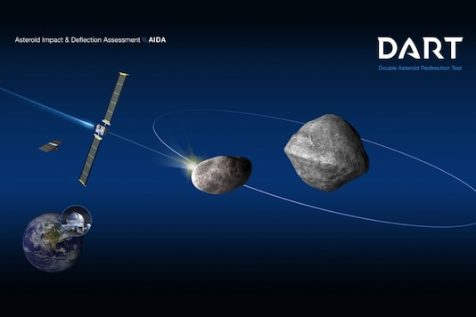 Eventech's high precision timers will play a key role in ESA's follow-up mission to NASA's DART, to study whether mankind can be successful in diverting asteroids off their course. (Image: NASA)