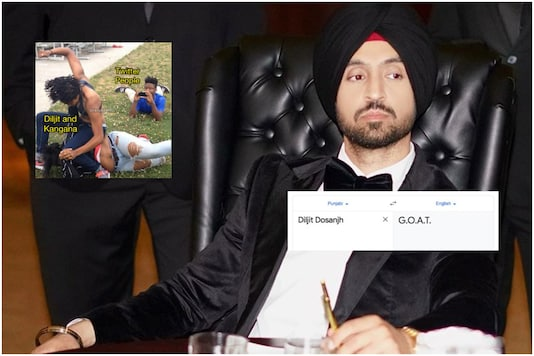 In Diljit Dosanjh Vs Kangana Ranaut Twitter War, Internet Has Discovered Their GOAT