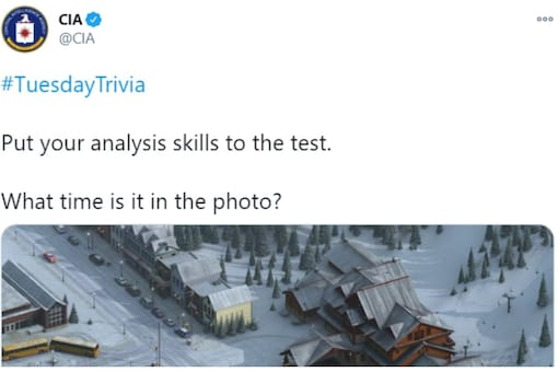 CIA posted the analytical challenge on their Twitter handle. (Credit: CIA/Twitter)