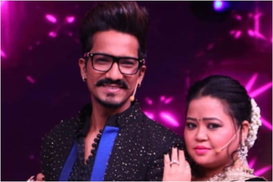 Bharti Singh with hubby Harsh