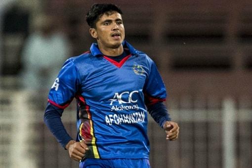 Mujeeb Ur Rahman got the wickets of Quinton de Kock and Ishan Kishan against the Mumbai Indians.
