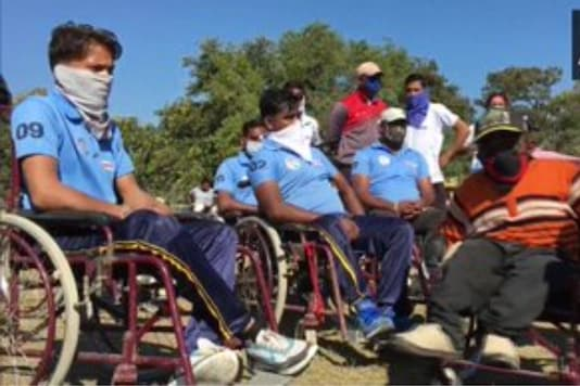 Watch: All Masked Up, Wheelchair Cricket Match Held in Indore on World Disability Day