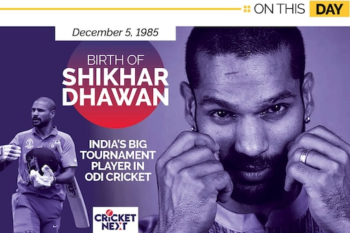 Happy Birthday Shikhar Dhawan: A Look at the Stylish Opener's Top 5 Knocks