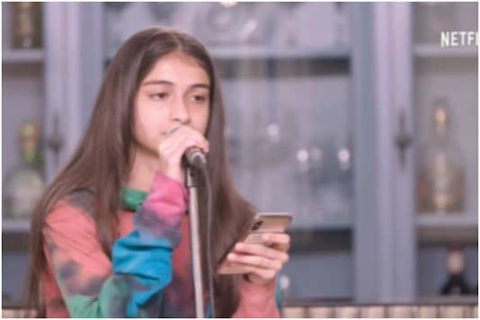 Deleted Scene from Fabulous Lives of Bollywood Wives Shows Ananya Panday's Sister Rysa Singing Beautifully