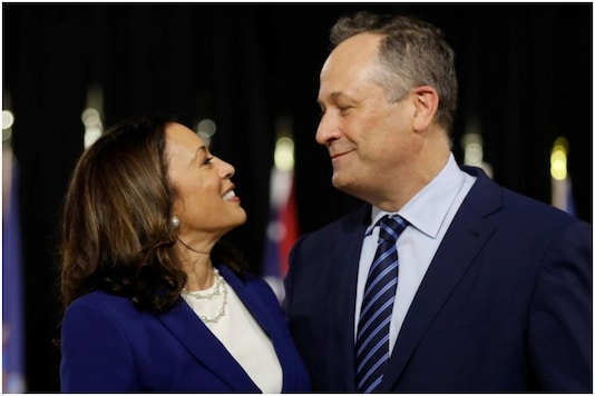 No, Kamala Harris's husband Doug Emhoff will not be called 'The Second Dude' | Image credit: Reuters