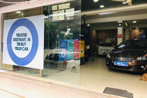 An OLX Autos store. (Photo: OLX)