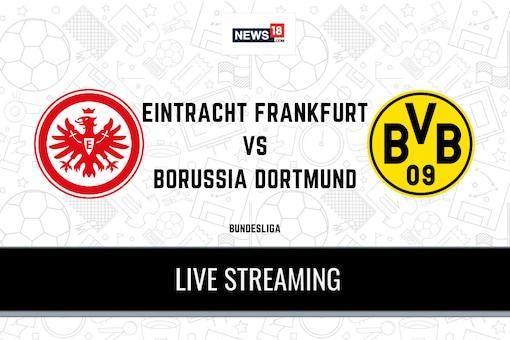 Bundesliga: Eintracht Frankfurt vs Borussia Dortmund