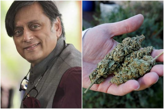 Shashi Tharoor had batted for legalising marijuana in 2018 | Image credit: PTI/Reuters