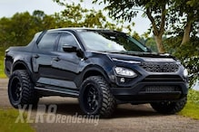 This Render of Tata Harrier Pick-Up Truck by XLR8 Might be Just What Your Garage Needs