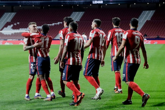 Atletico Madrid (Photo Credit: Reuters)