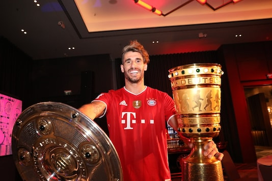 Javi Martinez ruled out for the rest of the year with injury (Javi Martinez Twitter)