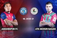 ISL 2020-21 HIGHLIGHTS, Jamshedpur FC vs ATK Mohun Bagan: Valskis Brace Helps Jamshedpur Beat ATKMB 2-1
