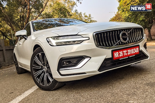 Volvo S60. (Photo: Manav Sinha/News18.com)