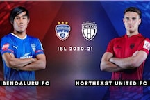 ISL 2020-21 HIGHLIGHTS, Bengaluru FC vs NorthEast United FC: Machado Scores Twice as Bengaluru vs NorthEast Match Ends 2-2