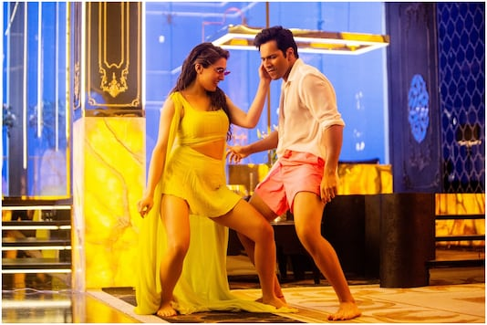 Sara Ali Khan and Varun Dhawan Try Their Best to Entertain in Coolie No 1  Song Husn Hai Suhana