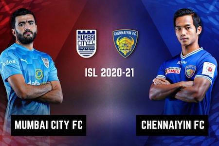ISL 2020-21 HIGHLIGHTS, Mumbai City FC vs Chennaiyin FC: Le Fondre, Santana Score, Mumbai Beat Chennaiyin 2-1