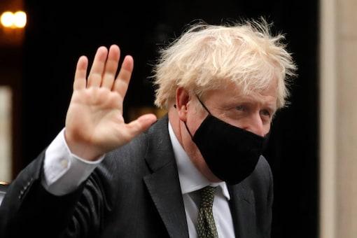 File pic of Britain's Prime Minister Boris Johnson. (AP Photo/Frank Augstein)