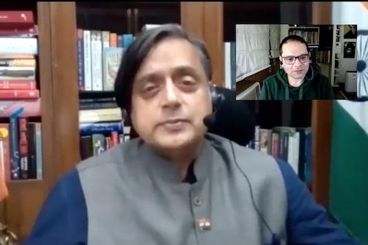 Congress MP Shashi Tharoor in conversation with Rainbow Lit Fest director SD Rangnekar | Image credit: YouTube