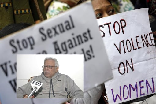RJD leader Shivanand Tiwari blamed porn and item songs for the rise in rape after a woman was gangraped by 17 men in Jharkhand while her husband was held hostage | Image credit: Reuters/ANI (inset)