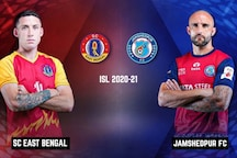 ISL 2020-21 SC East Bengal vs Jamshedpur FC HIGHLIGHTS: Two Red Cards Shown as 10-man East Bengal Hold Jamshedpur FC to Draw