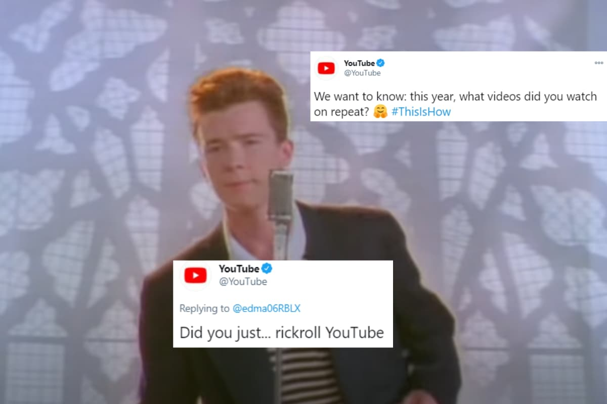 Youtube Asked People To Share Their Favourite Videos And Got Rickrolled Instead 2020 Everyone